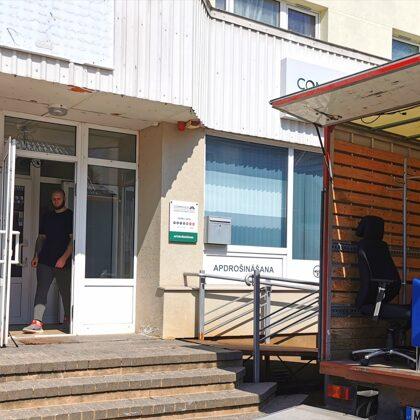 Apdrošināsanas kompānijas Seesam biroja pārcelšana uz jaunajma telpā